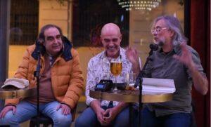 Ramón de España, Albert Soler y Víctor Amela