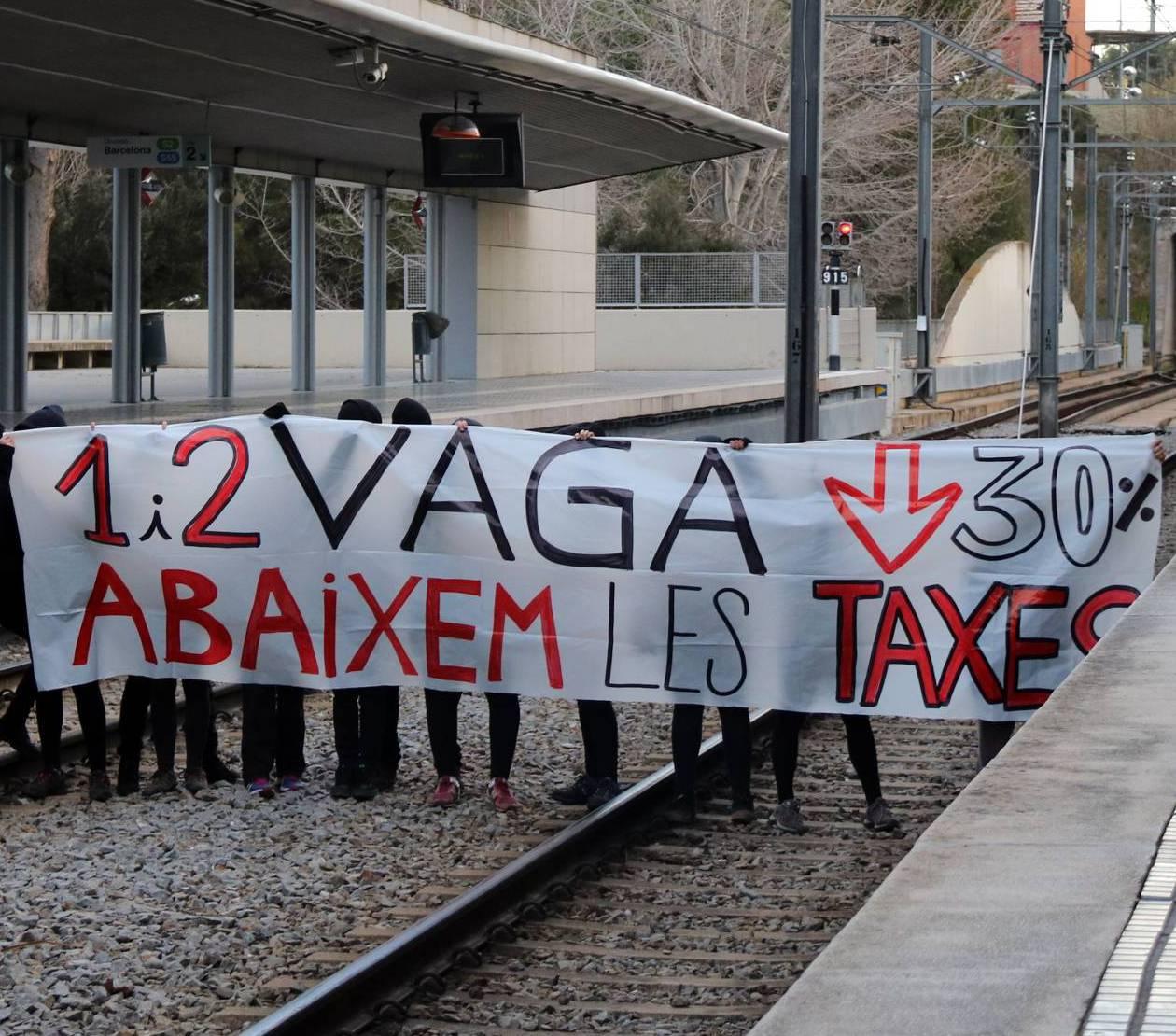 Estudiants en vaga