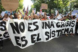 Manifestació contra l'evasió fiscal