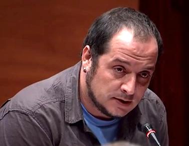 David Fernàndez, a la comissió parlamentària