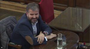 Ferran Burriel, director de NothingAD Comunicació, declarant davant e