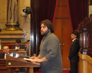 Ferran Pedret, diputado del PSC
