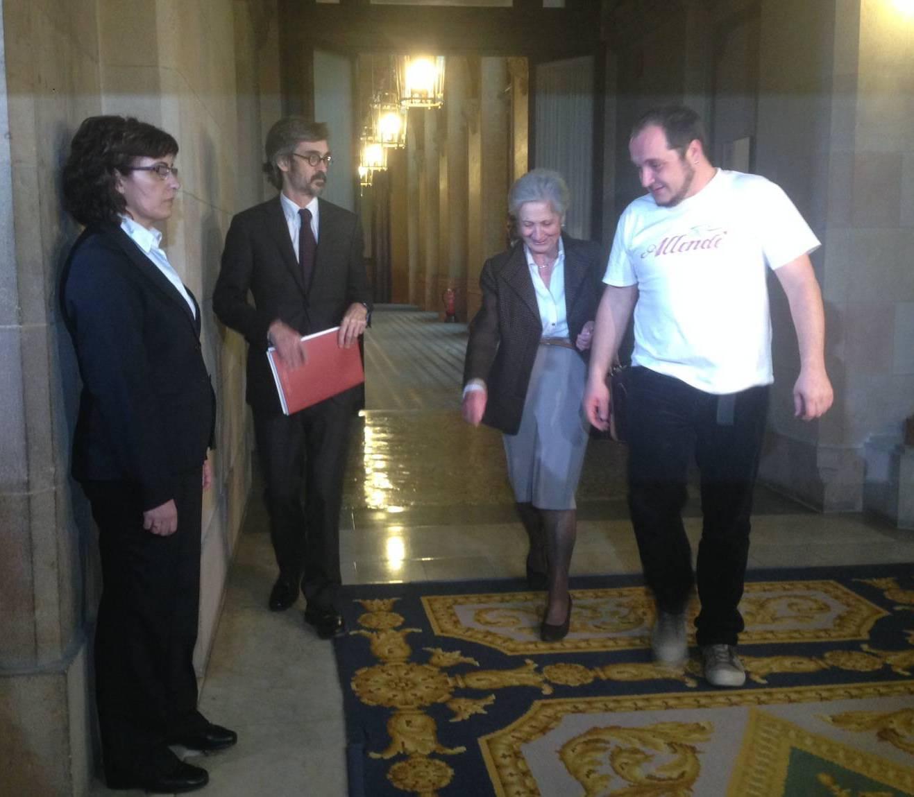 Ferrusola i Fernàndez entren a la comissió