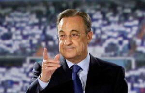 Florentino Pérez, presidente de ACS y del Real Madrid, en un acto de l