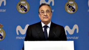 Florentino Pérez, president del Real Madrid i de la Fundació ACS