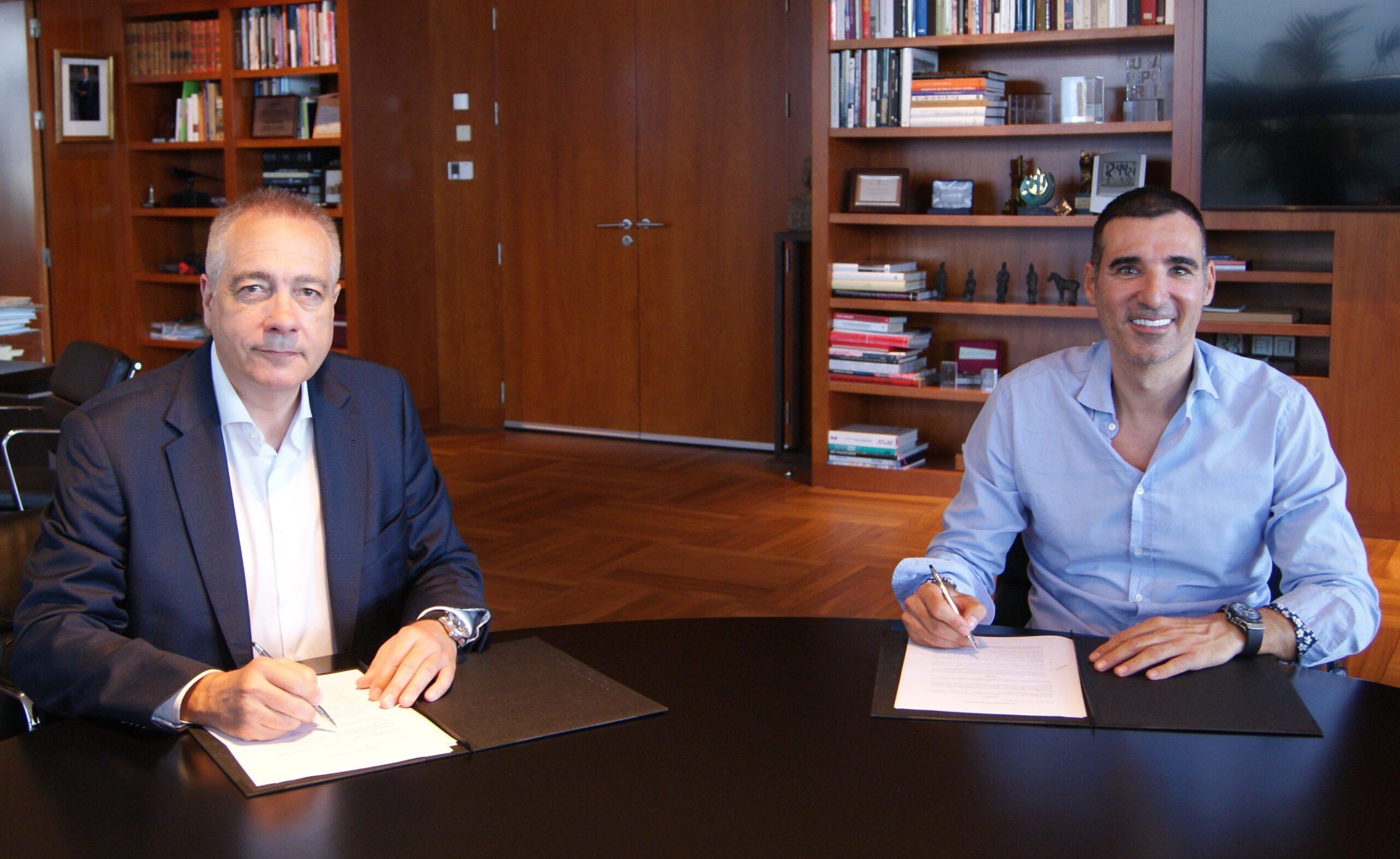 Pere Navarro y Miquel Vicente