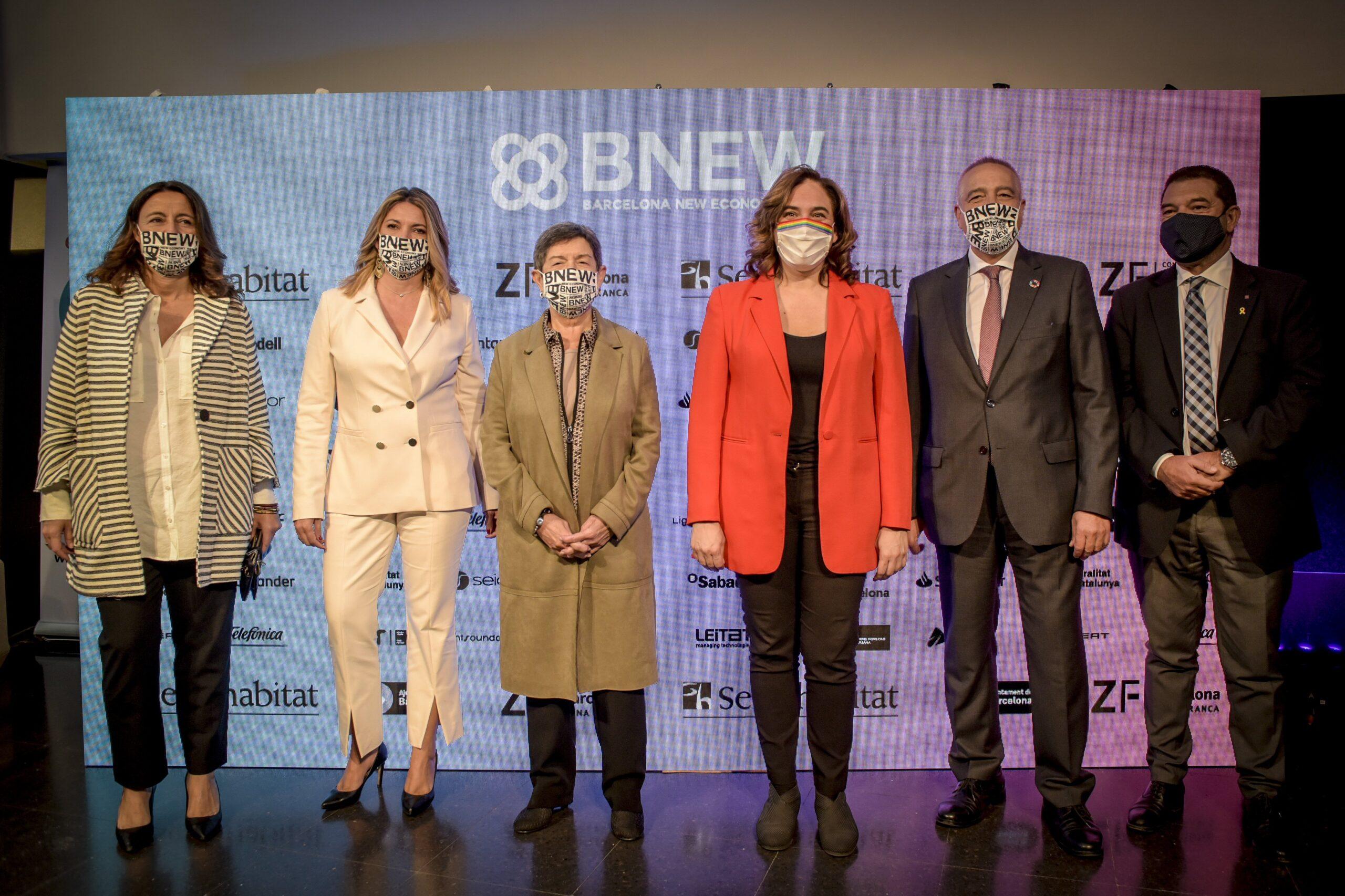 Inauguració de la Barcelona New Economy Week – BNEW