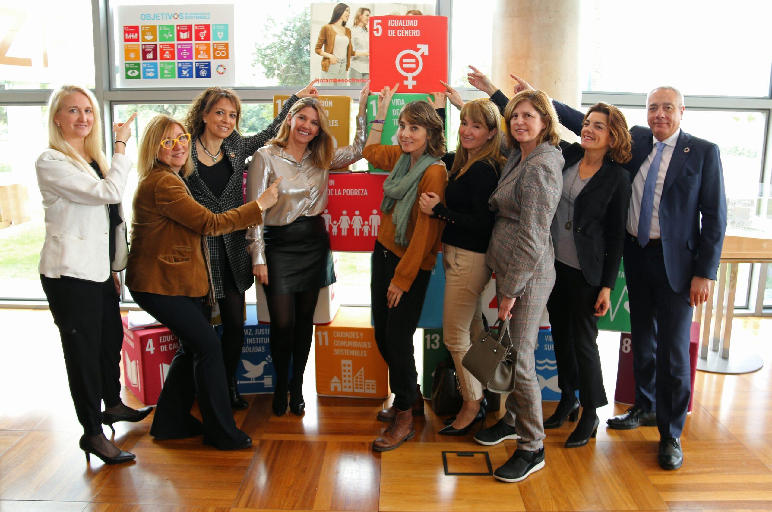 Equipo impulsor del punto 5 de los Objetivos de Desarrollo Sostenible (ODS) de la Agenda 2030 de la ONU.