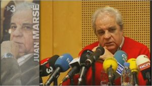 Imatge del video de TV3 dedicat a Juan Marsé