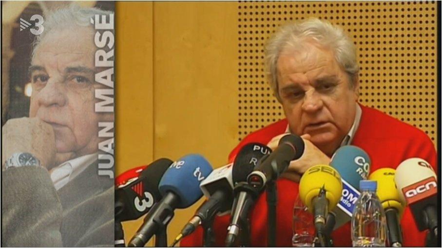 Imagen del video de TV3 dedicado a Juan Marsé
