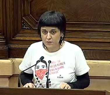 Anna Gabriel, al Parlament