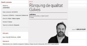 Jordi Galves a El Nacional. Jordi Galvez a la CCMA