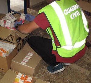 guardia civil convector farmacs