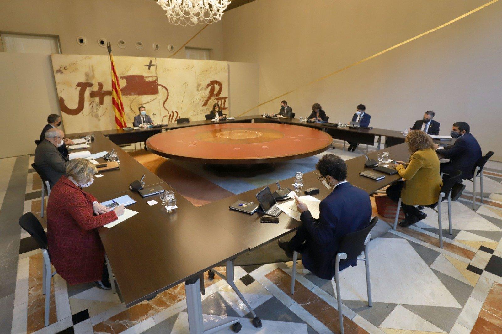 Reunió del govern d'aquest dimarts, 13 d'octubre