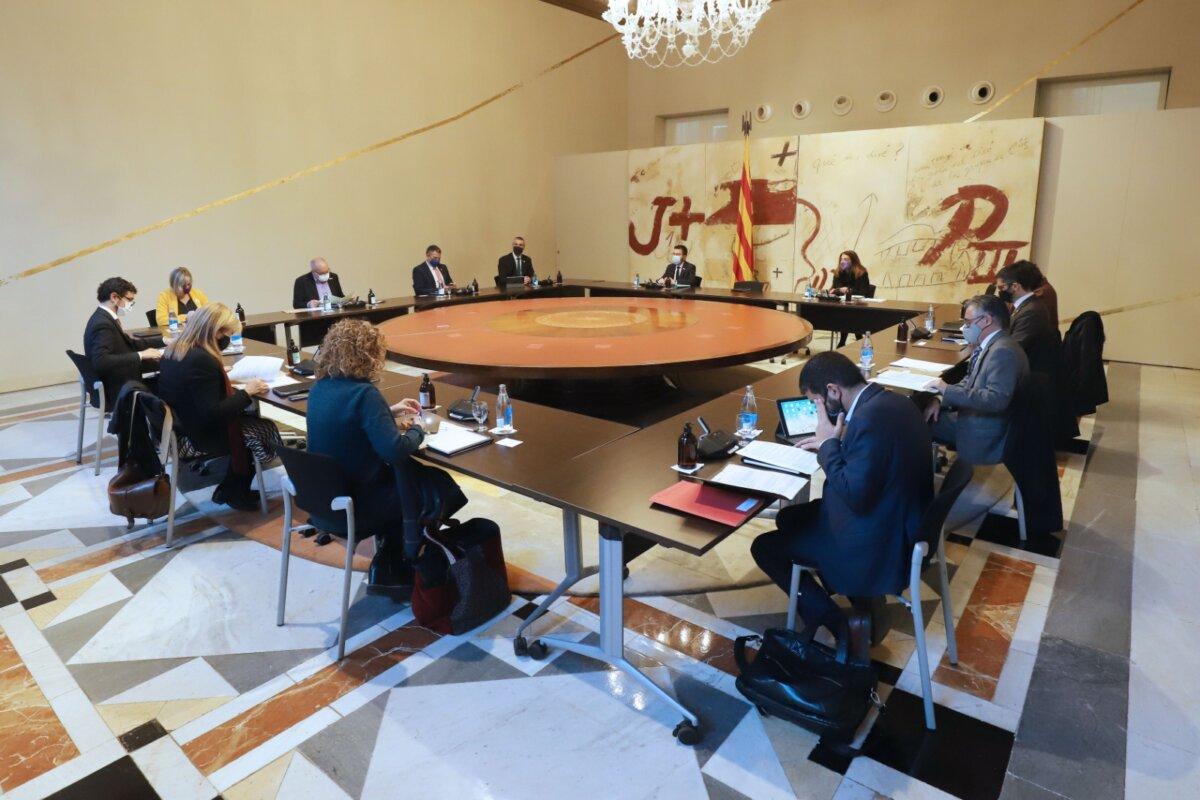 Reunió del 24 de novembre del govern català