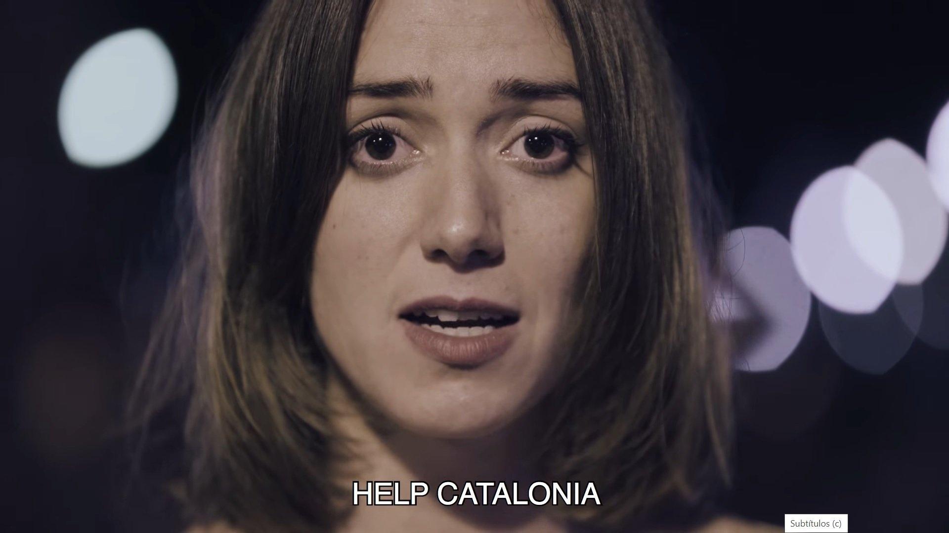 Batabat hizo el video 'Help Catalonia' para Òmnium Cultural