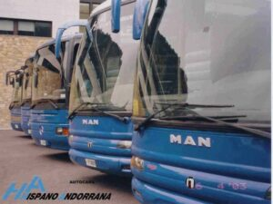 Busos de la Hispano Andorrana