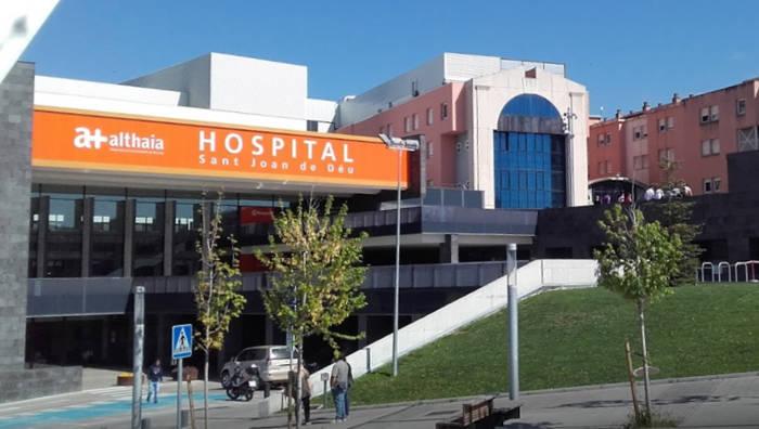 Hospital Sant Joan de Déu, a Manresa