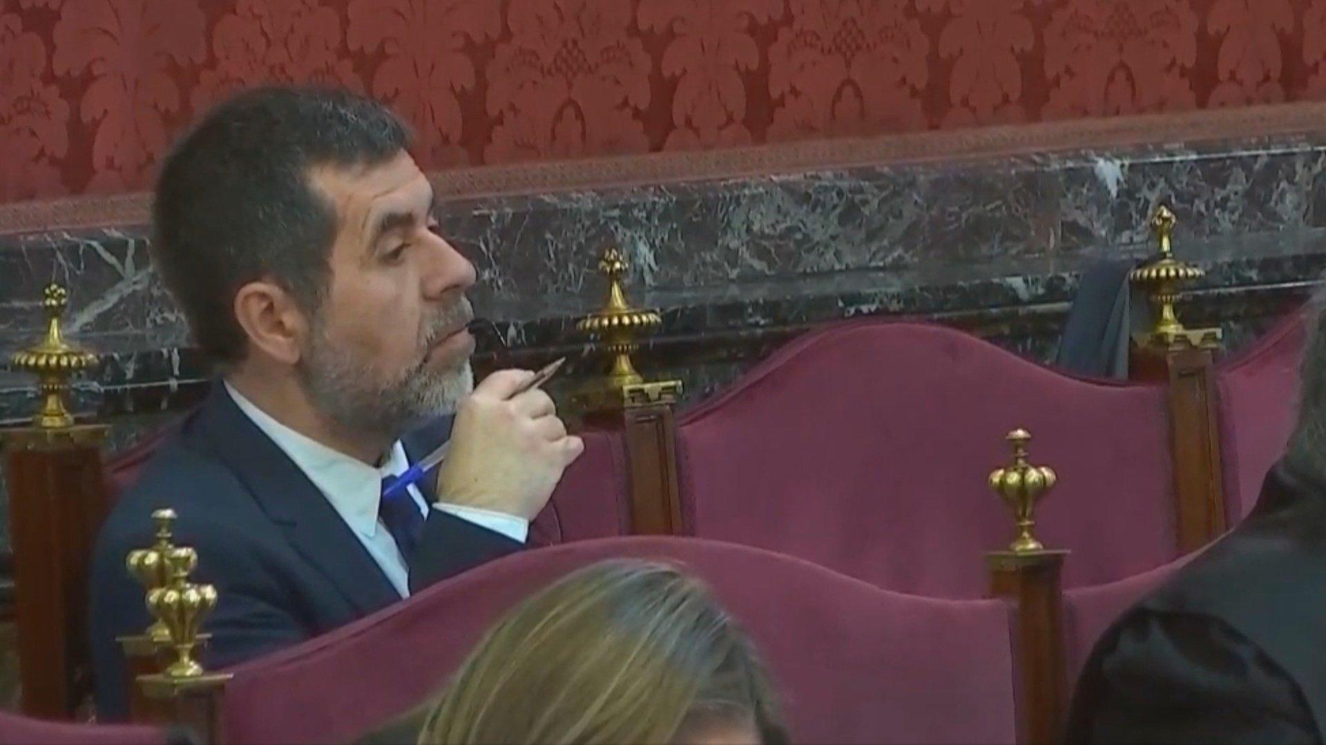 Jordi Sànchez en el Tribunal Supremo
