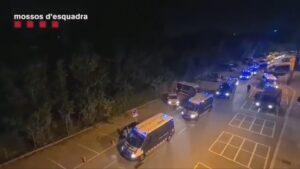 Macrooperació amb 500 mossos a la Mina