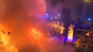 Foc a Barcelona