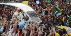 visita Papa Francesc a Brasil