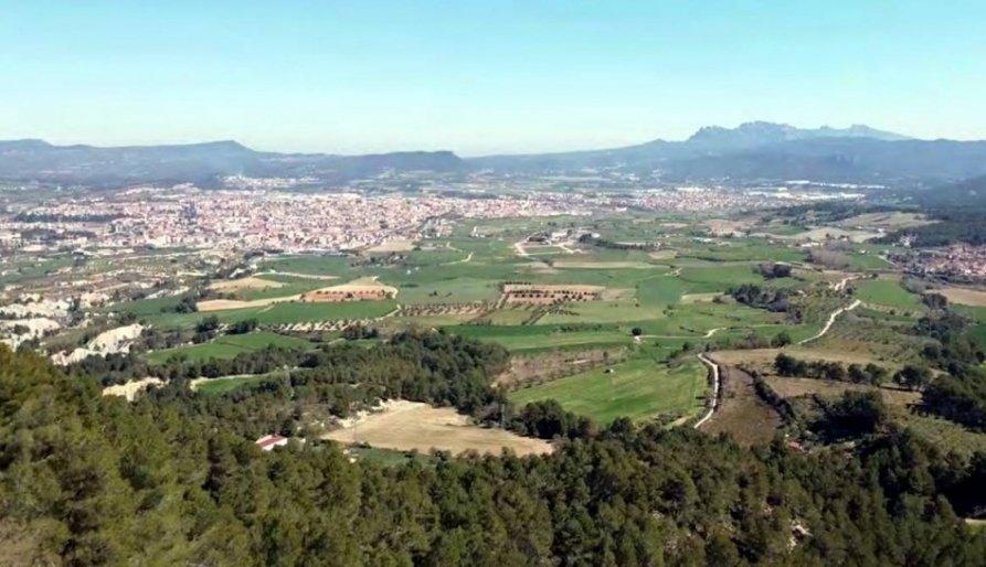Zona de Can Titó on la Generalitat proposa instal·lar un dels nous p