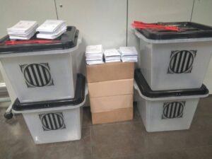 urnes paperetes