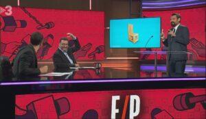 Jair Domínguez, Toni Soler y el nuevo colaborador de 'Està passant',