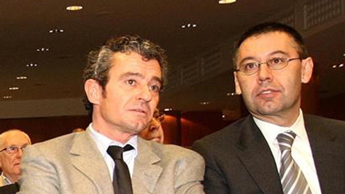 Jaume Masferrer y Josep Maria Bartomeu