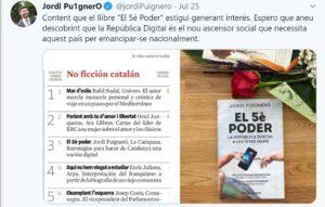 Jordi Puigneró vincula 'ascensor social' y 'emancipación nacional'