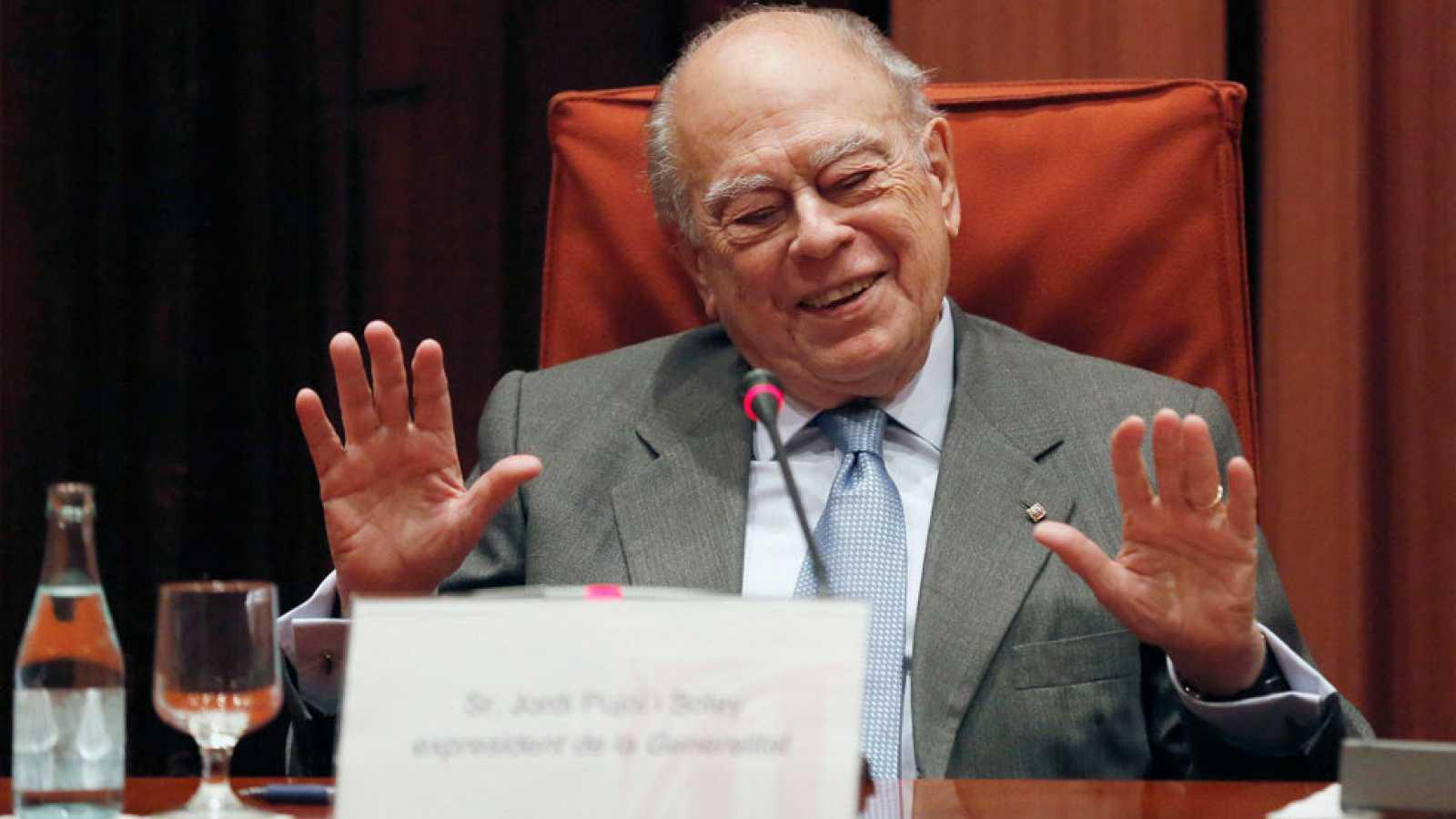 Jordi Pujol, al Parlament de Catalunya