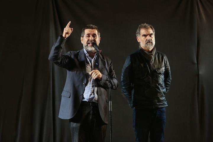 Jordi Sànchez i Jordi Cuixart
