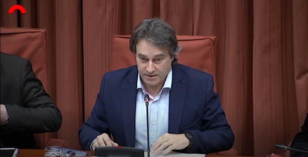 Jordi Munell, diputat de JxCat i president de la comissió sobre els a