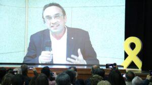 Josep Rull, desde la prisión de Soto de Real