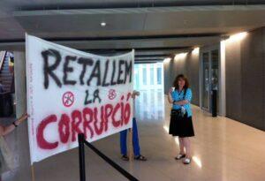 Protesta corrupció