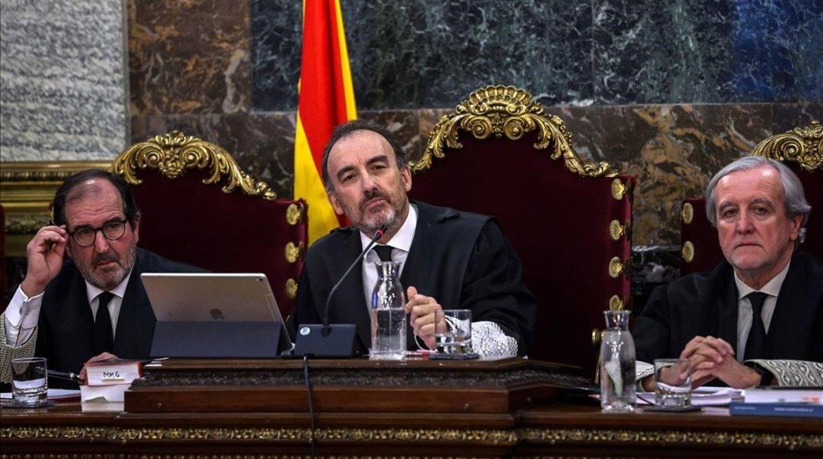 Presidencia del Tribunal que juzga los hechos vinculados al referéndum