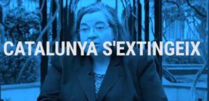 Carme Junyent, en el vídeo de Aliança Catalana