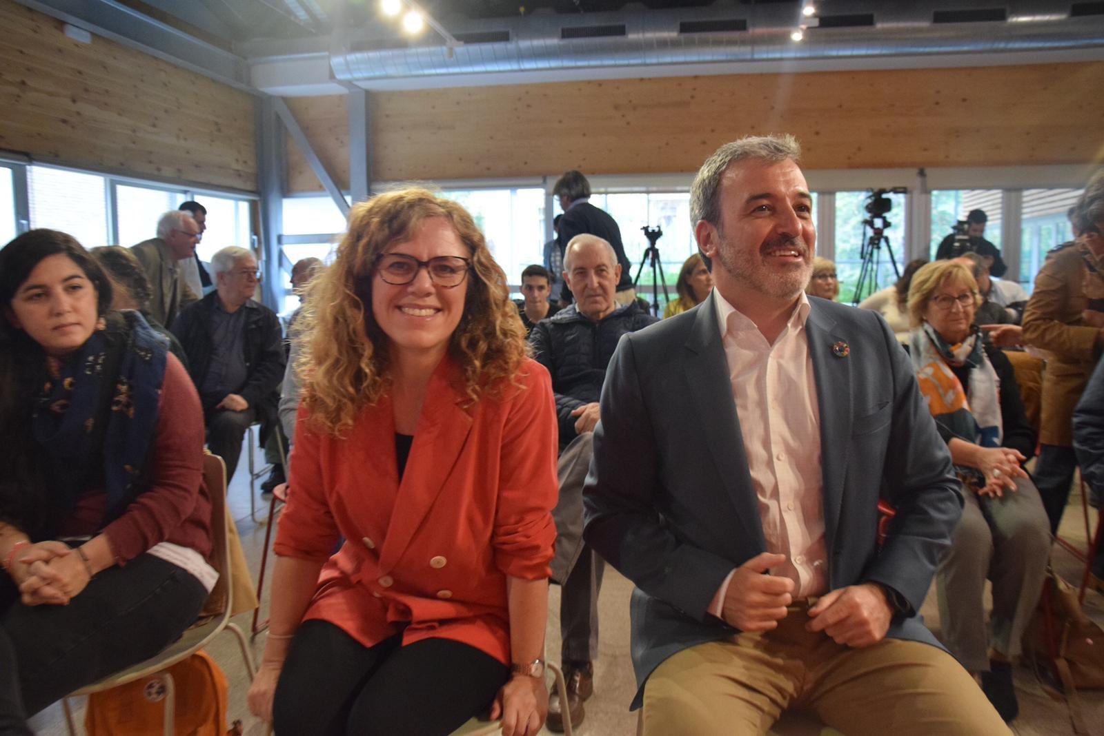 Marga Marí-Klose y Jaume Collboni
