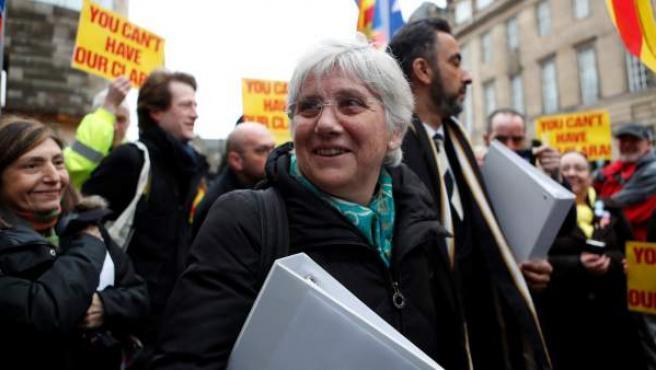 La ex consejera Clara Ponsatí