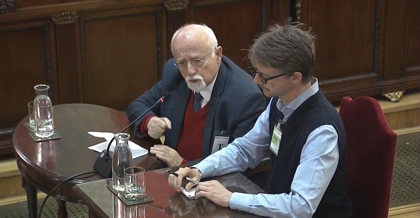 El ex-diputado del SPD en el Parlamento alemán y experto en procesos electorales, Bernhard von Grünberg.