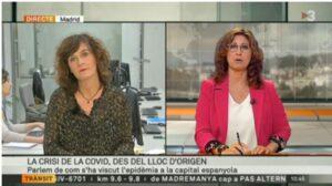 Madrid, lugar de origen de la pandemia, según TV3