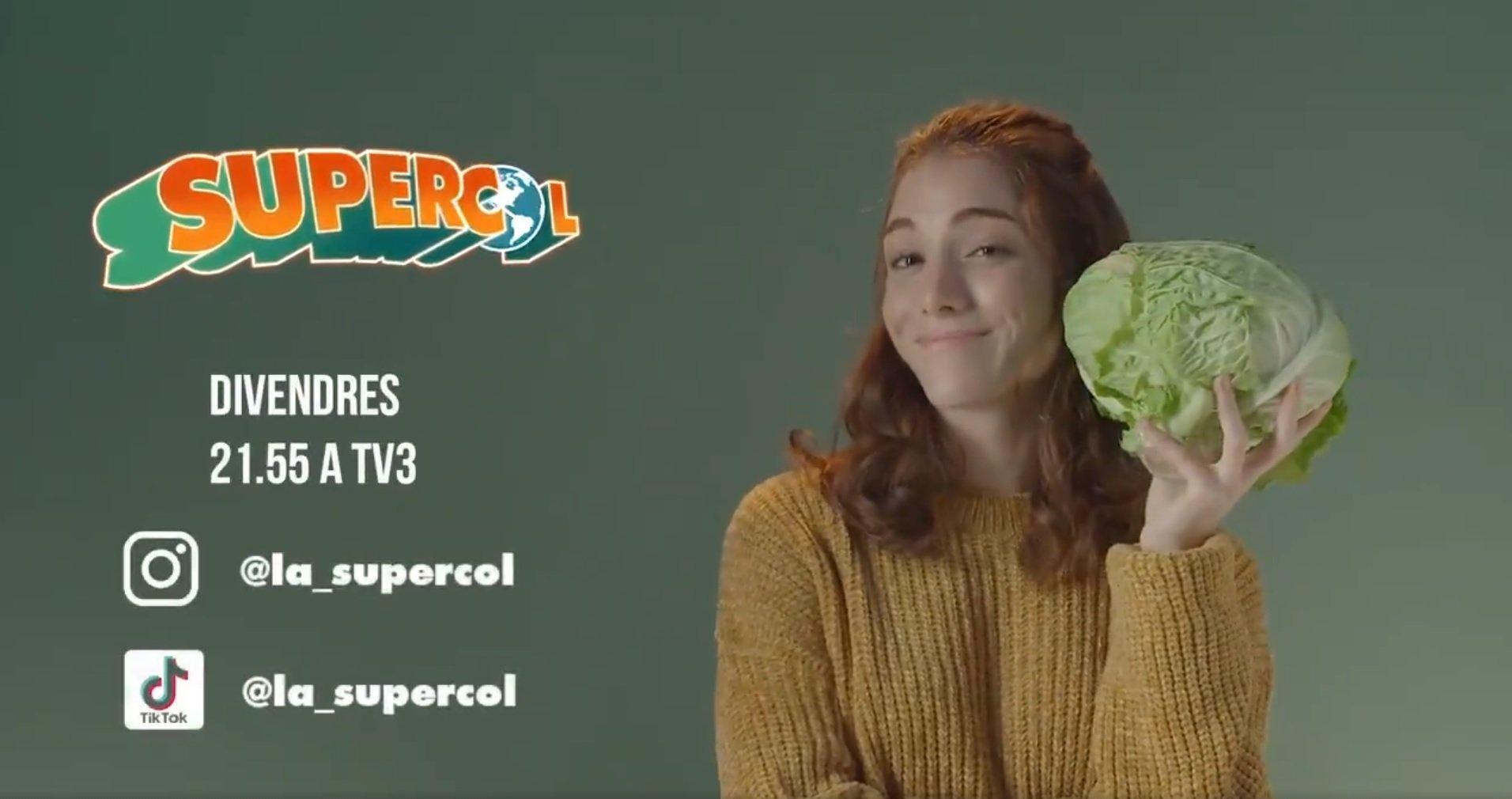 Promoció de la sèrie de TV3 i Incís Films 'La SuperCol',