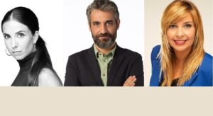 Laura Rosel, Roger de Gràcia i Xantal Llavina