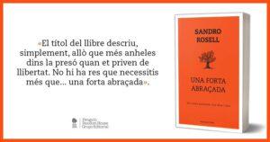 Promoción del libro 'Un fuerte abrazo', de Sandro Rosell