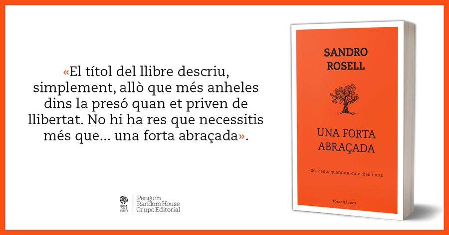 Promoció del llibre 'Una forta abraçada', de Sandro Rosell