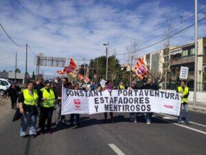 manifestacio port aventura tarragona