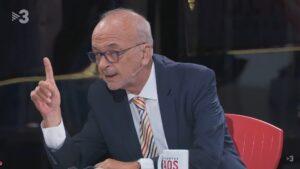 Manuel Cuyàs, en el programa FAQS de TV3