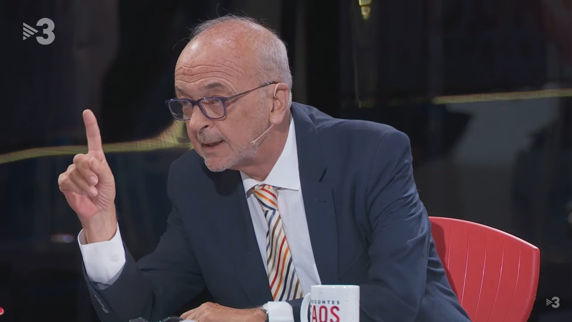 Manuel Cuyàs, al programa FAQS de TV3