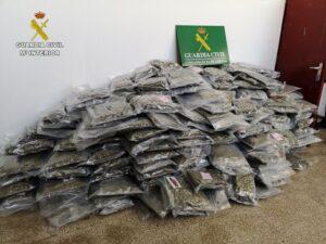 Marihuana confiscada durant l'operació Heyho
